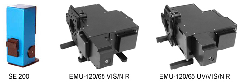 We have two types of echelle spectrographs, the SE 200 and the EMU-120/65